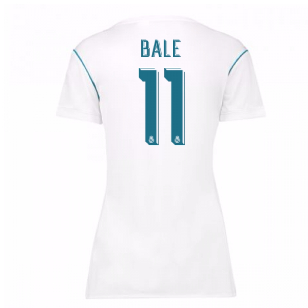 2017-18 Real Madrid Womens Home Shirt (Bale 11)