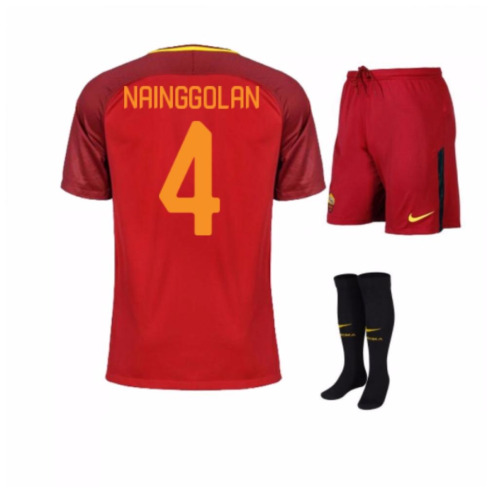 2017-18 Roma Home Mini Kit (Nainggolan 4)