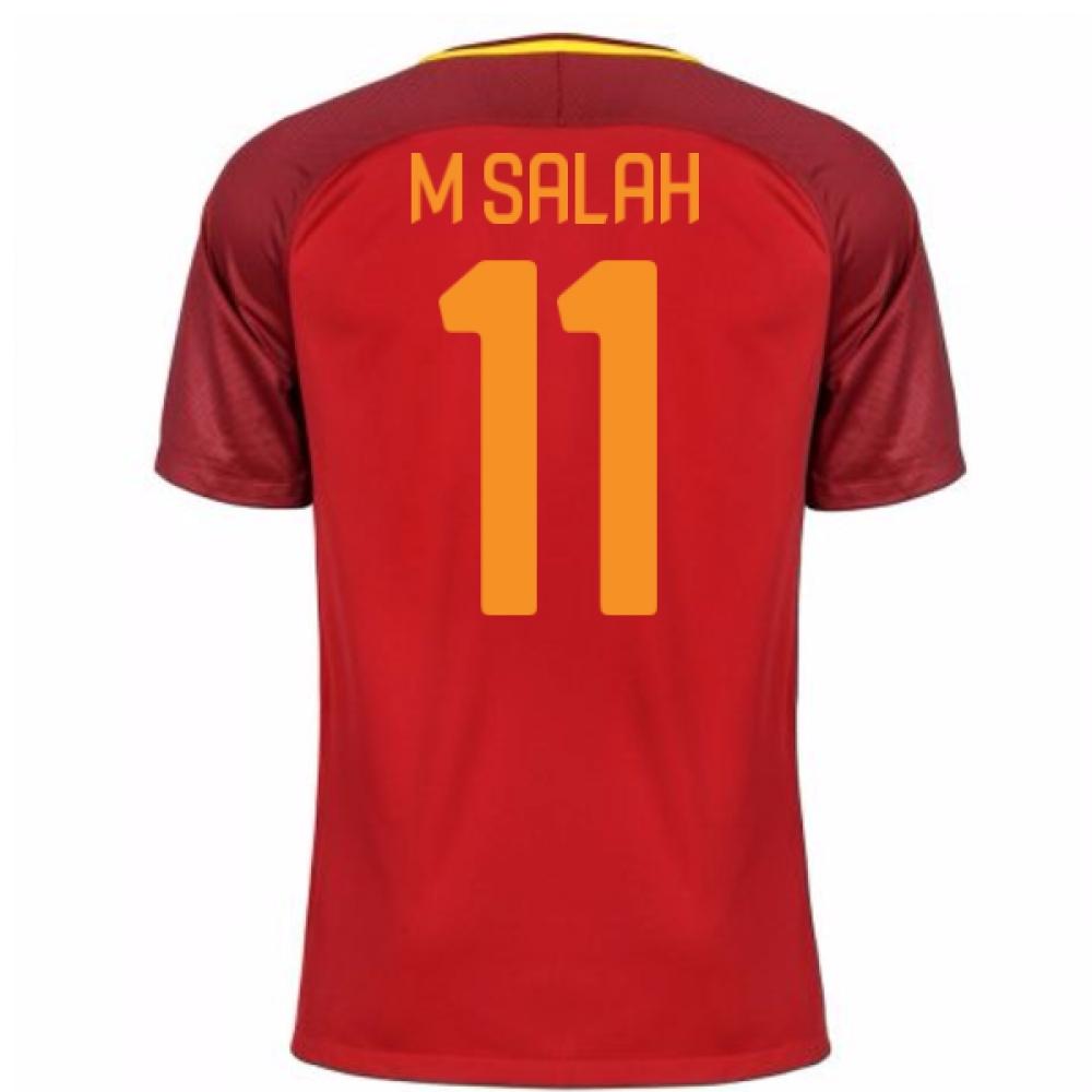 2017-18 Roma Home Shirt (M Salah 11)