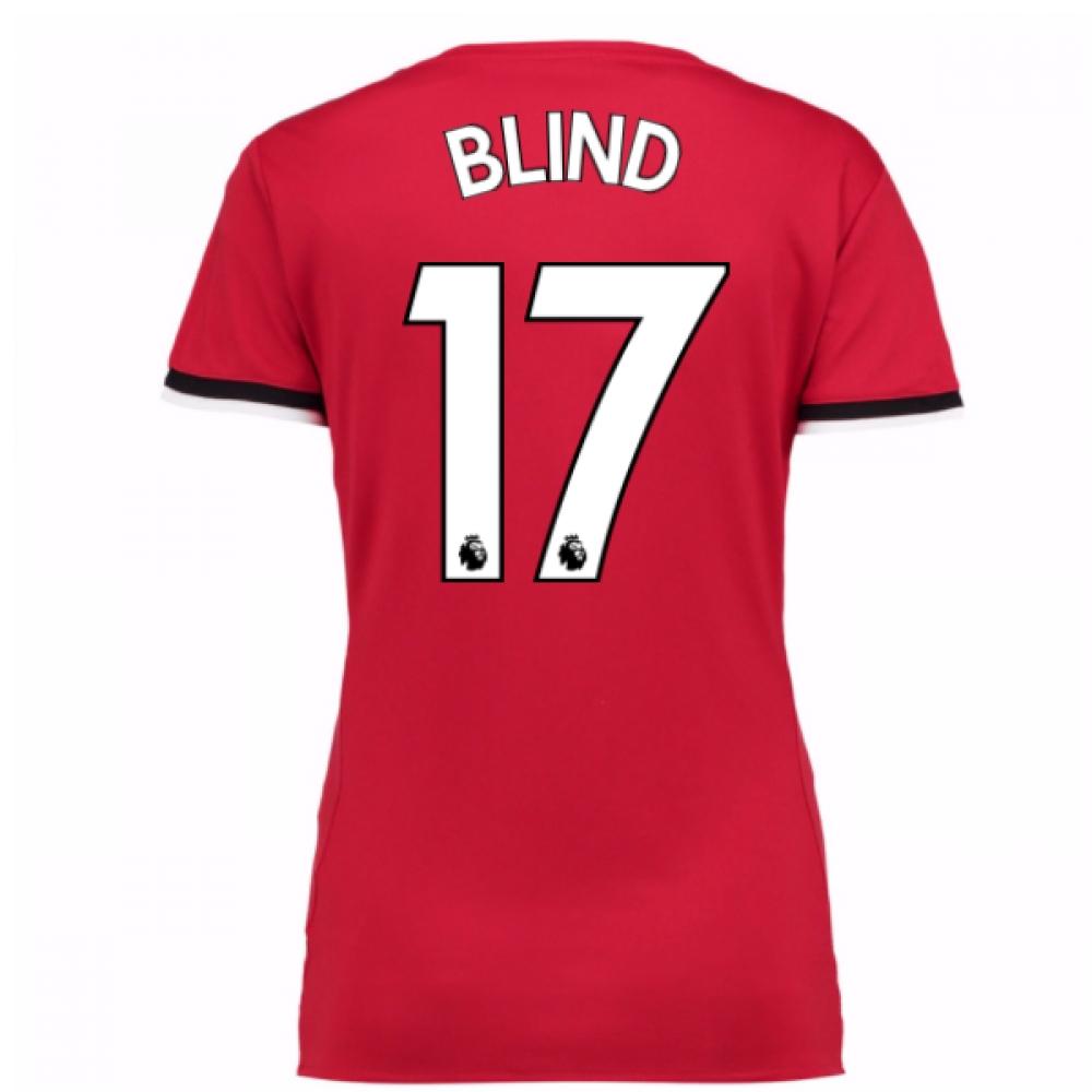 2017-2017 Man United Womens Home Shirt (Blind 17)