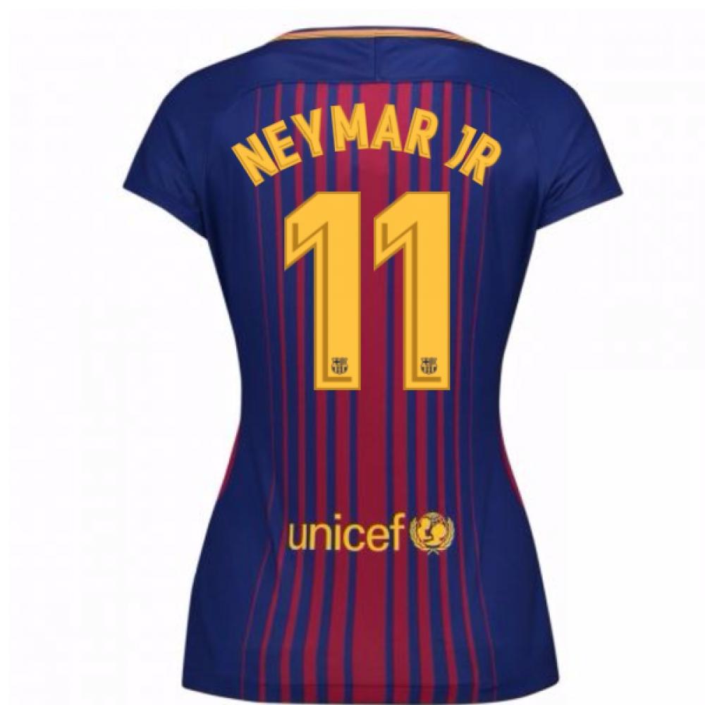 2017-2018 Barcelona Womens Home Shirt (Neymar JR 11)