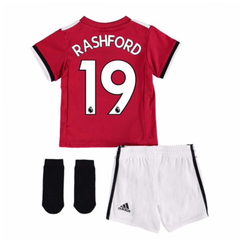 2017-2018 Man United Home Baby Kit (Rashford 19)