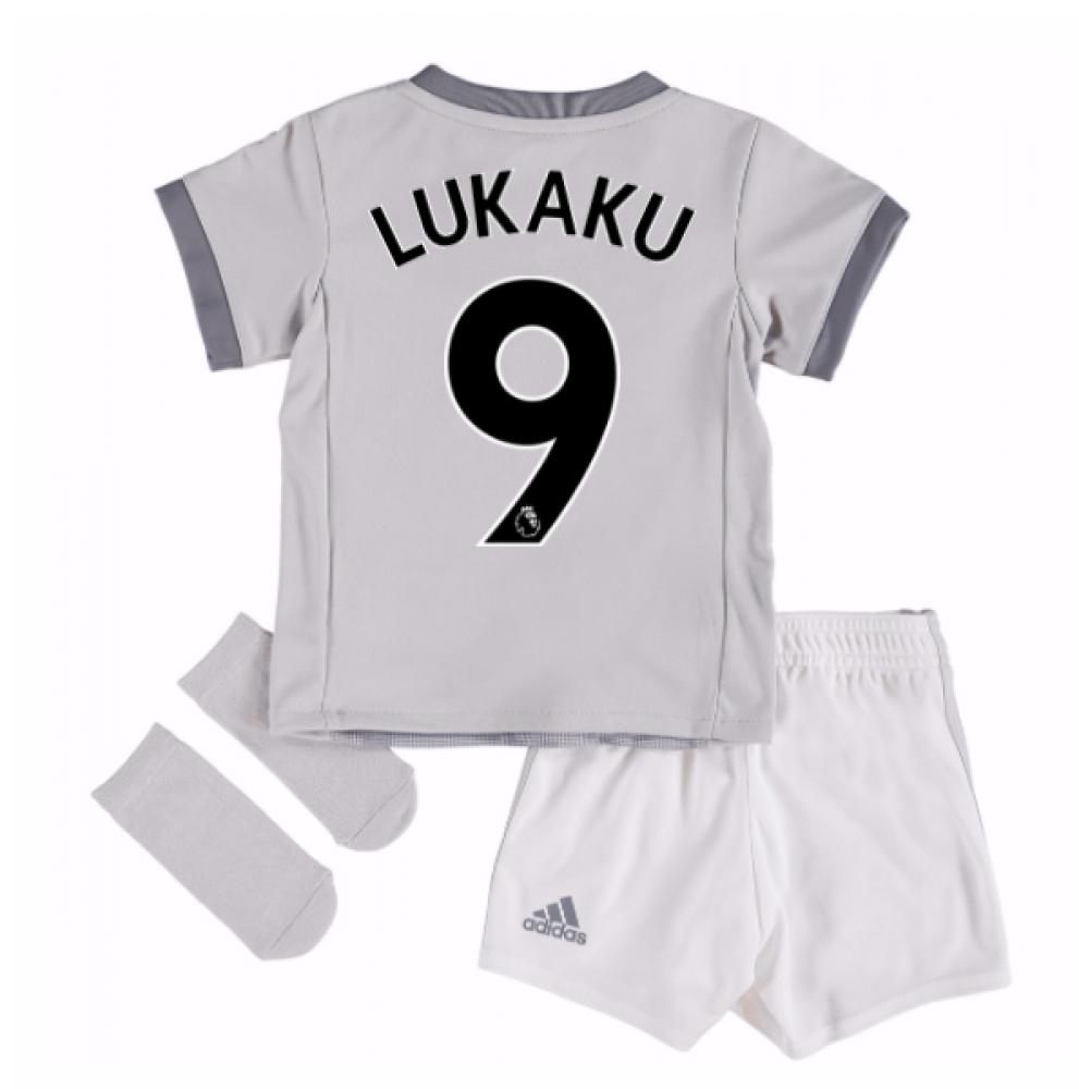 2017-2018 Man United Third Baby Kit (Lukaku 9)