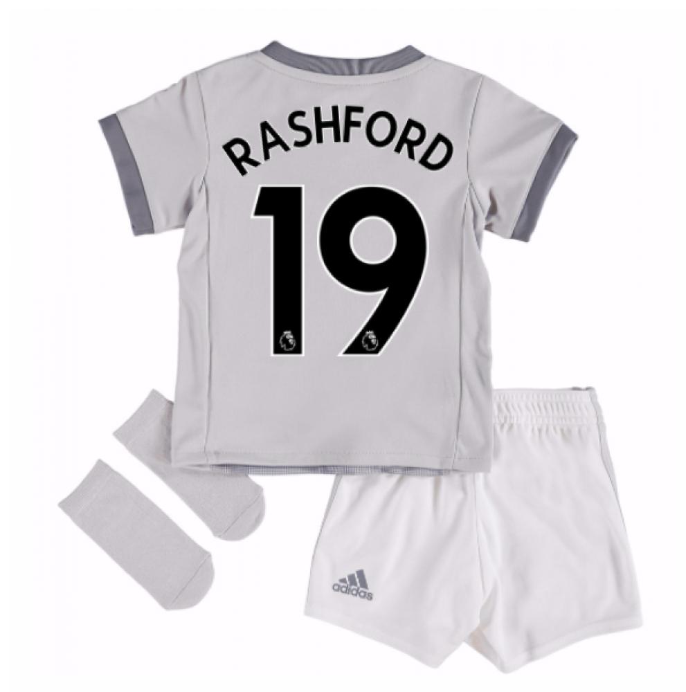 2017-2018 Man United Third Baby Kit (Rashford 19)