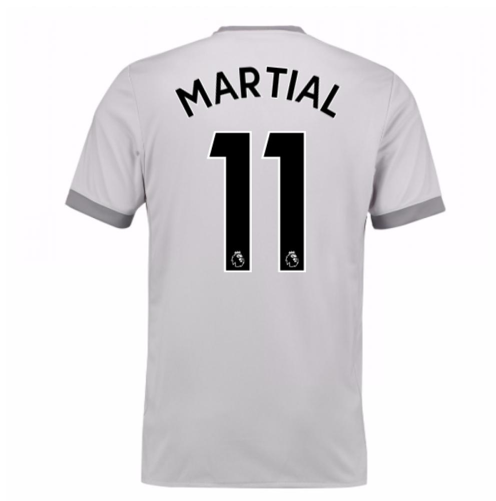 2017-2018 Man United Third Shirt (Martial 11) - Kids