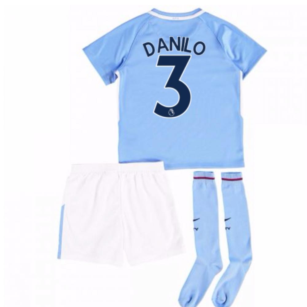 2017-18 Man City Mini Kit (Danilo 3)