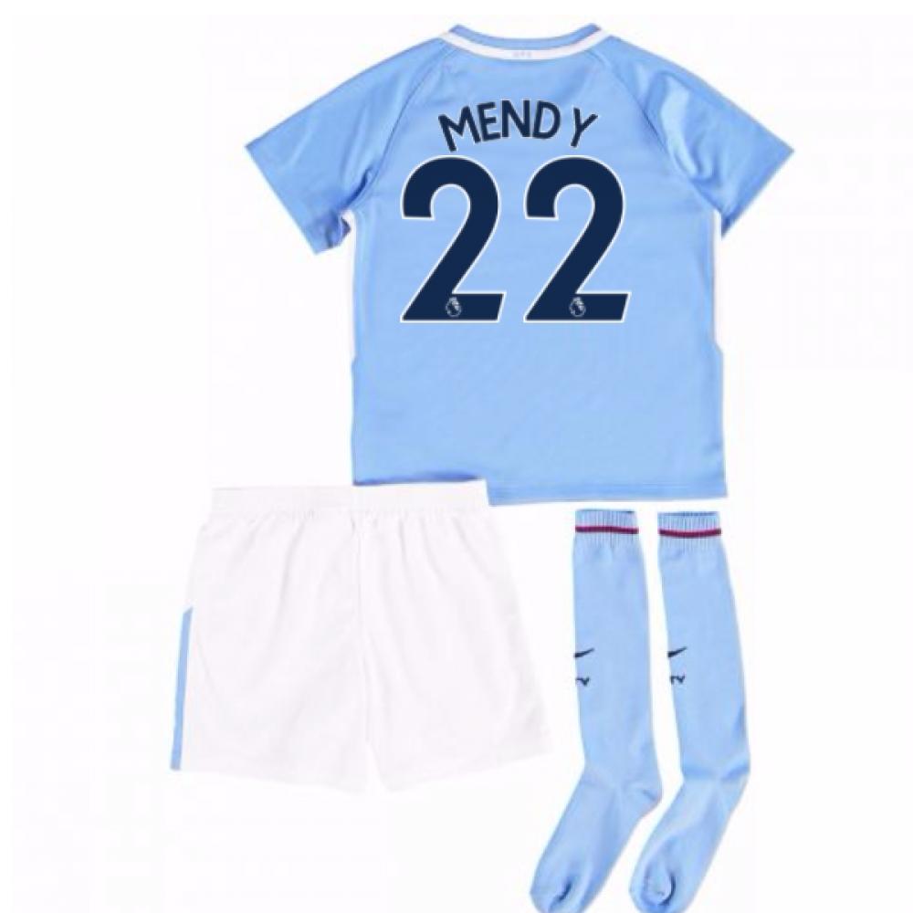 2017-18 Man City Mini Kit (Mendy 22)