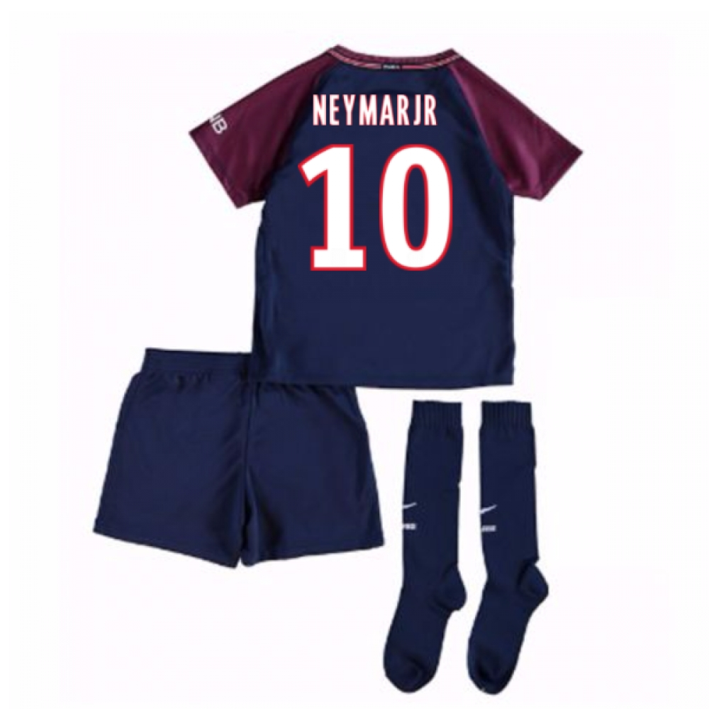 2017-18 Psg Home Mini Kit (Neymar  Jr 10)