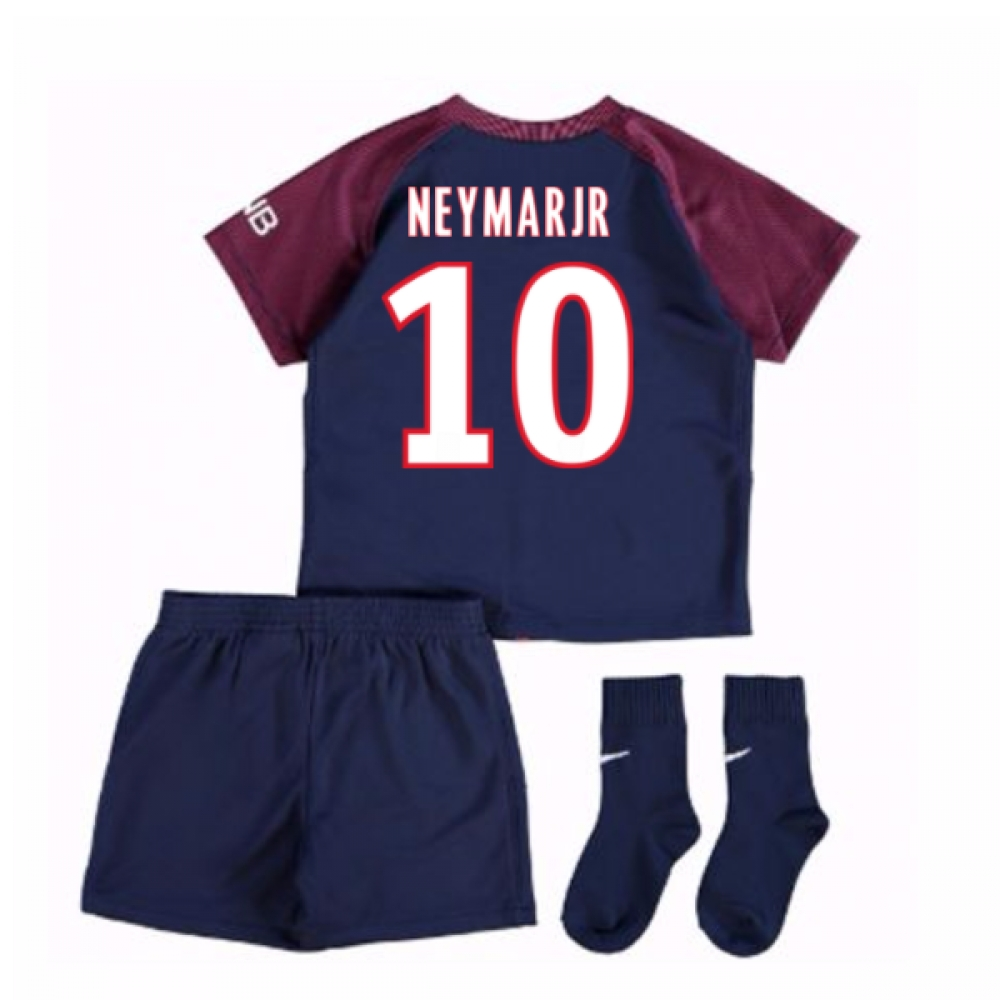 2017-18 Psg Home Baby Kit (Neymar  Jr 10)