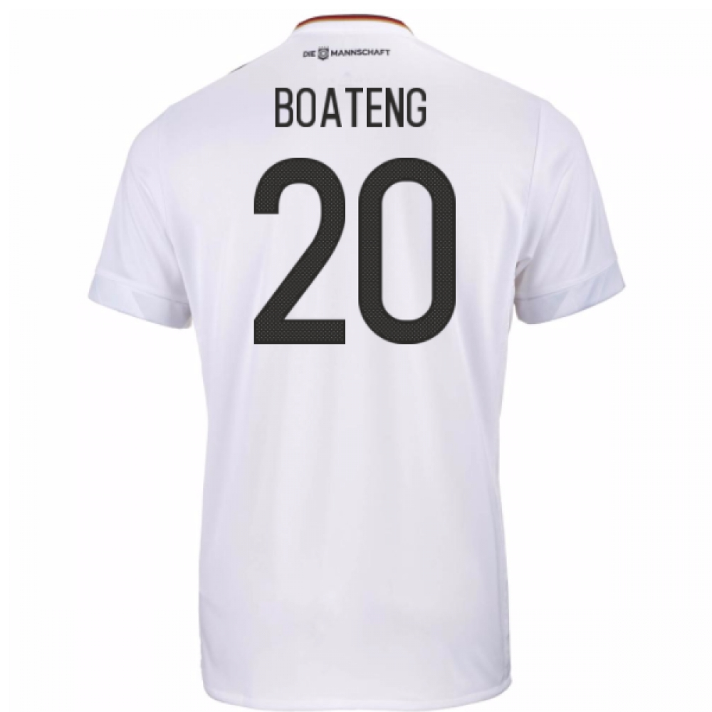 2017-18 Germany Home Shirt (Boateng 20)
