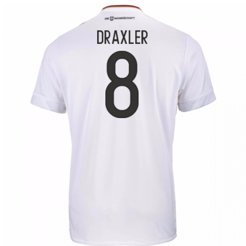 2017-18 Germany Home Shirt (Draxler 8)