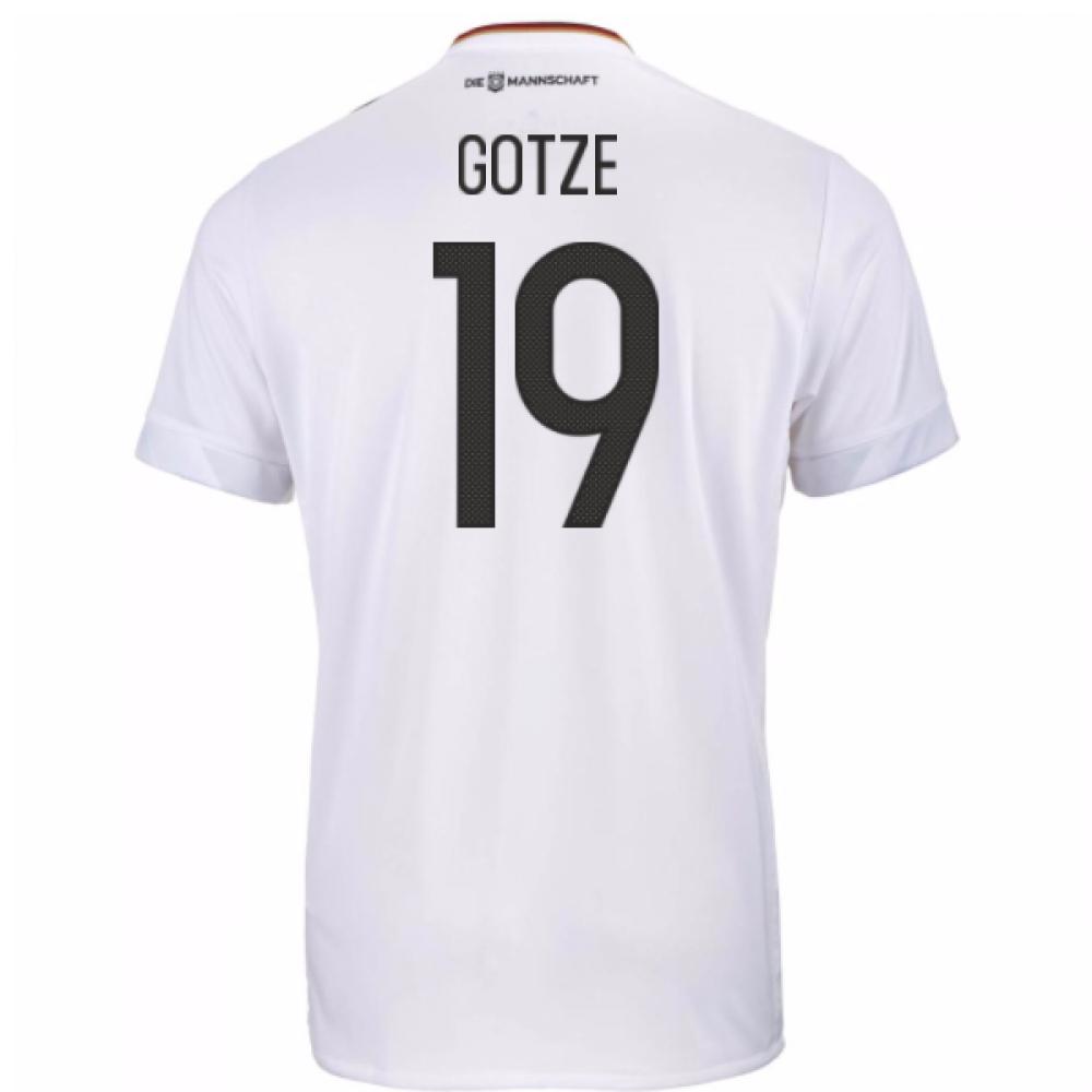 2017-18 Germany Home Shirt (Gotze 19)