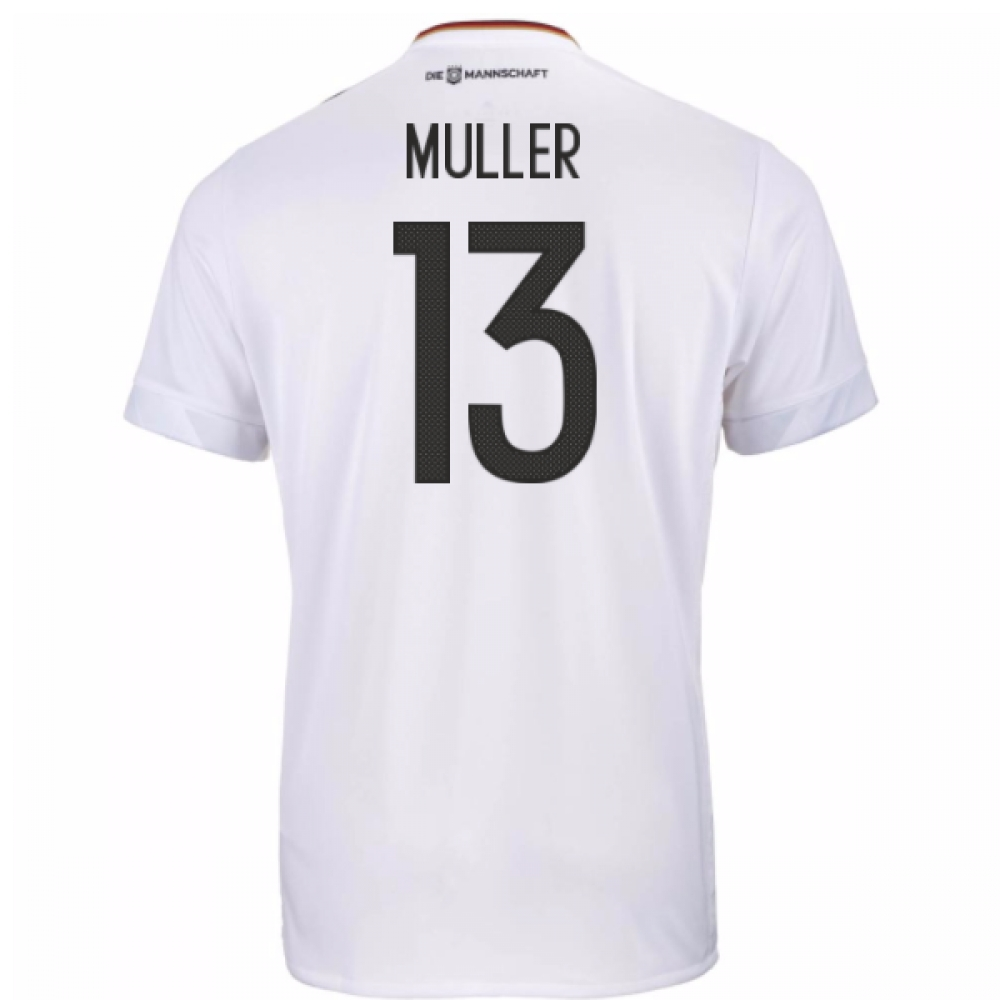 2017-18 Germany Home Shirt (Muller 13)