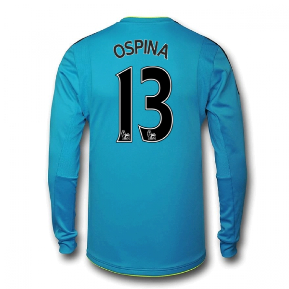 201617 Arsenal Away Goalkeeper Shirt (Ospina 13)  Kids