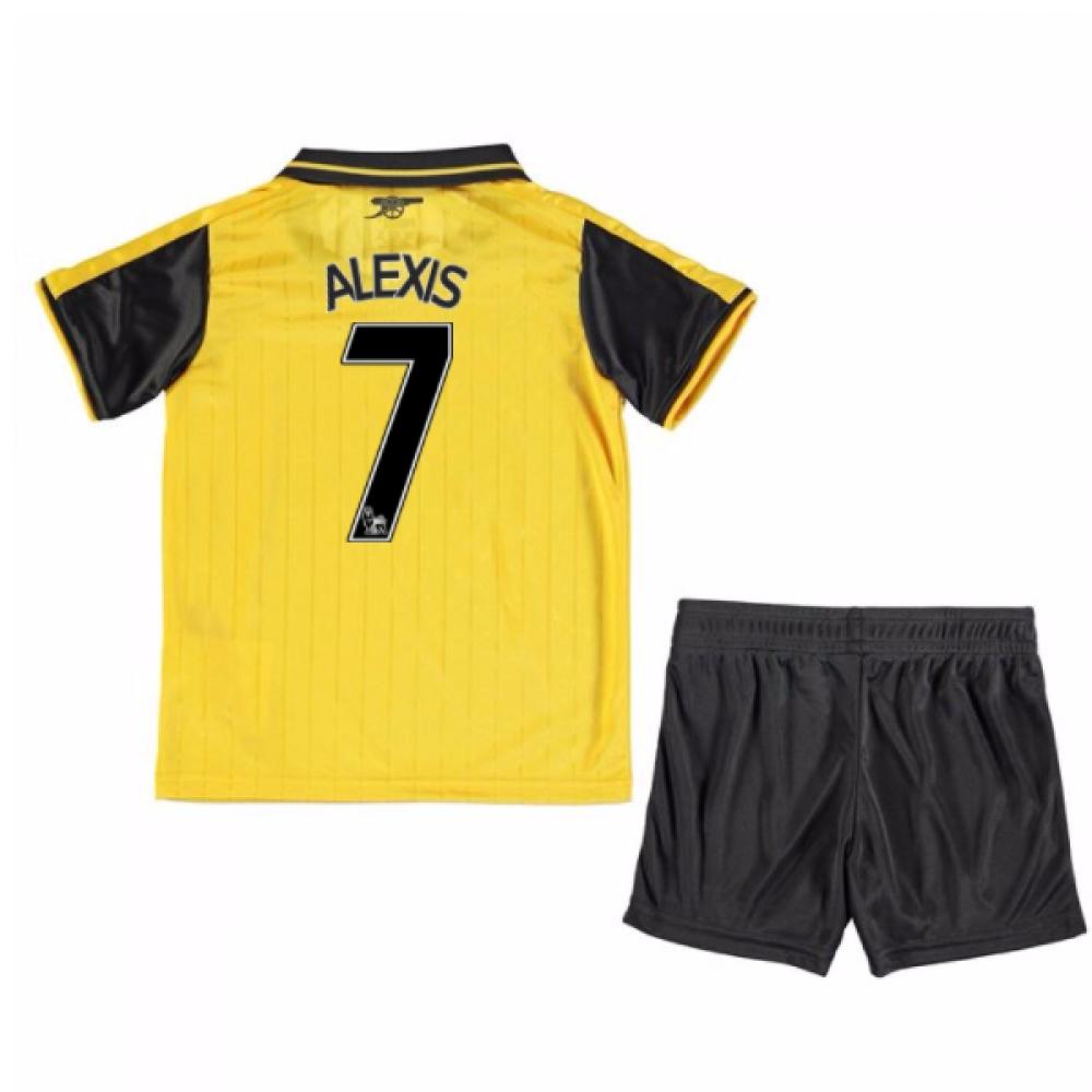 201617 Arsenal Away Mini Kit (Alexis 7)