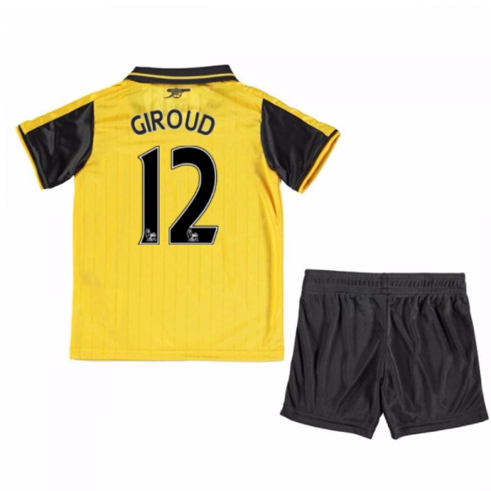 201617 Arsenal Away Mini Kit (Giroud 12)