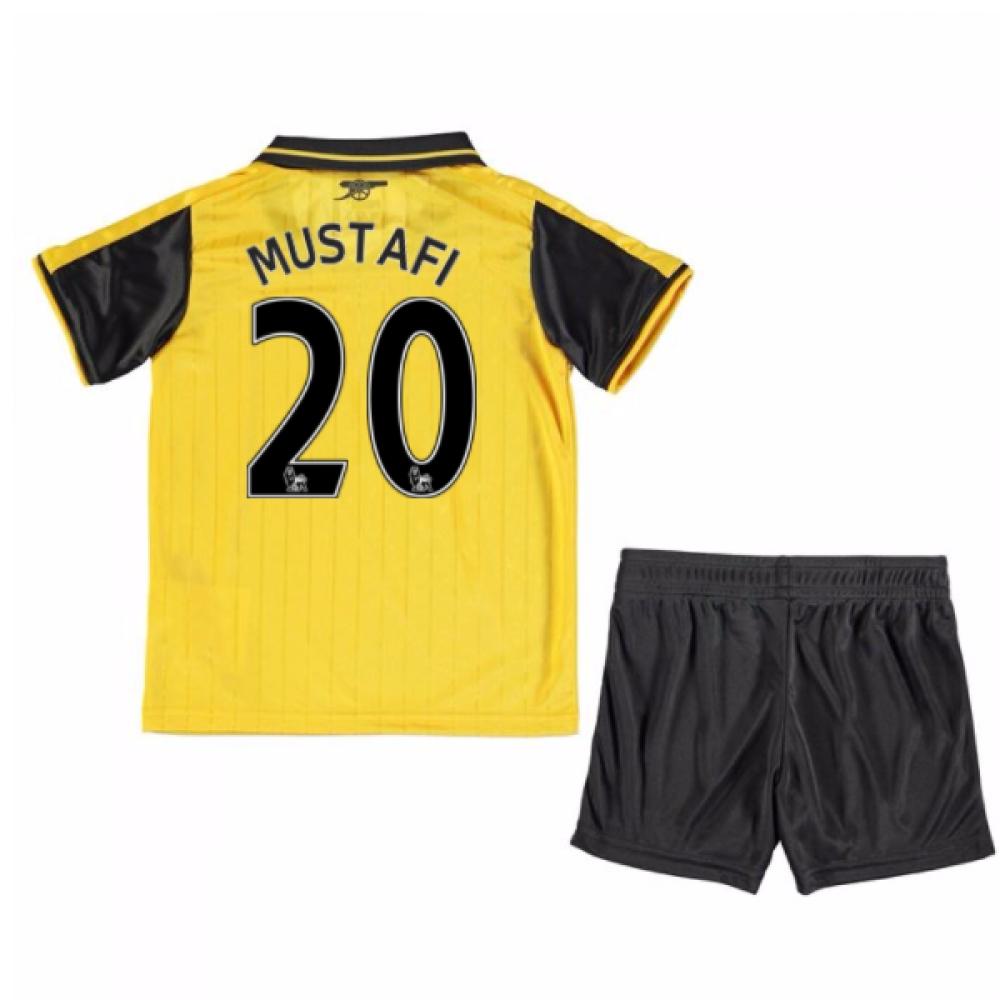 201617 Arsenal Away Mini Kit (Mustafi 20)