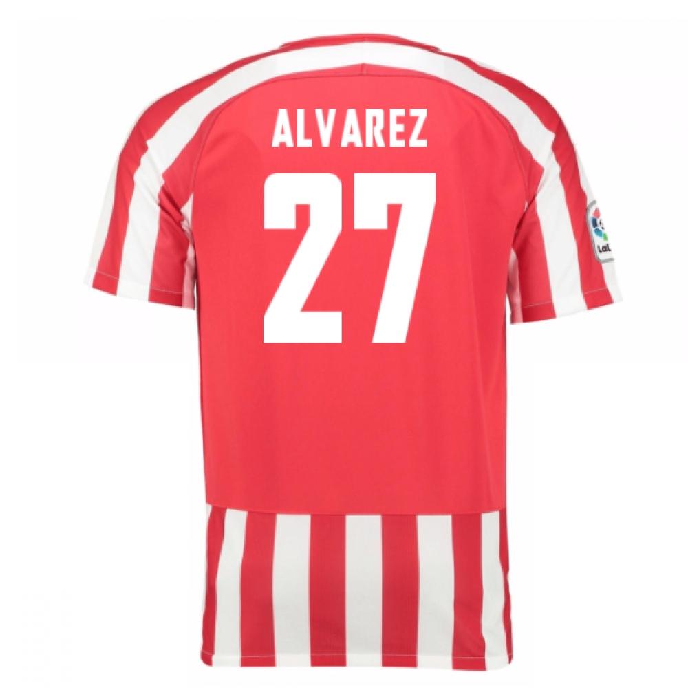 2016-17 Athletic Bilbao Home Shirt (Alvarez 27)