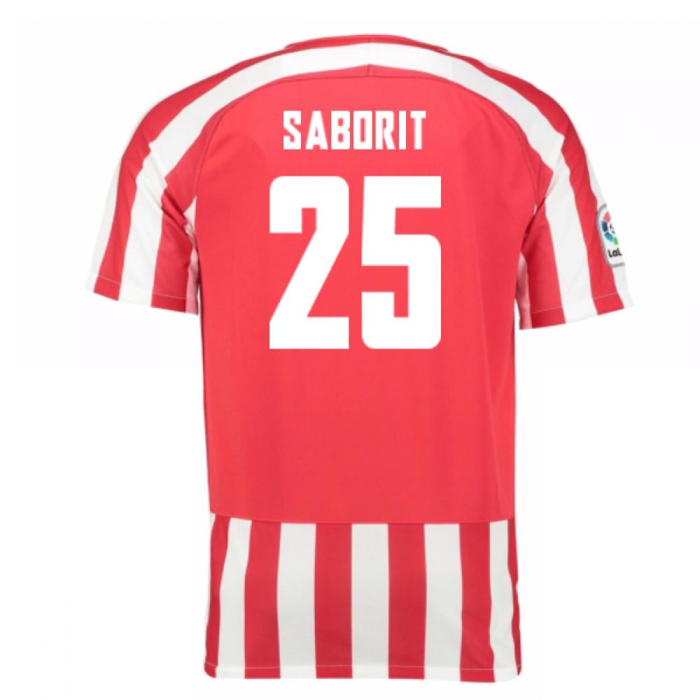 2016-17 Athletic Bilbao Home Shirt (Saborit 25)
