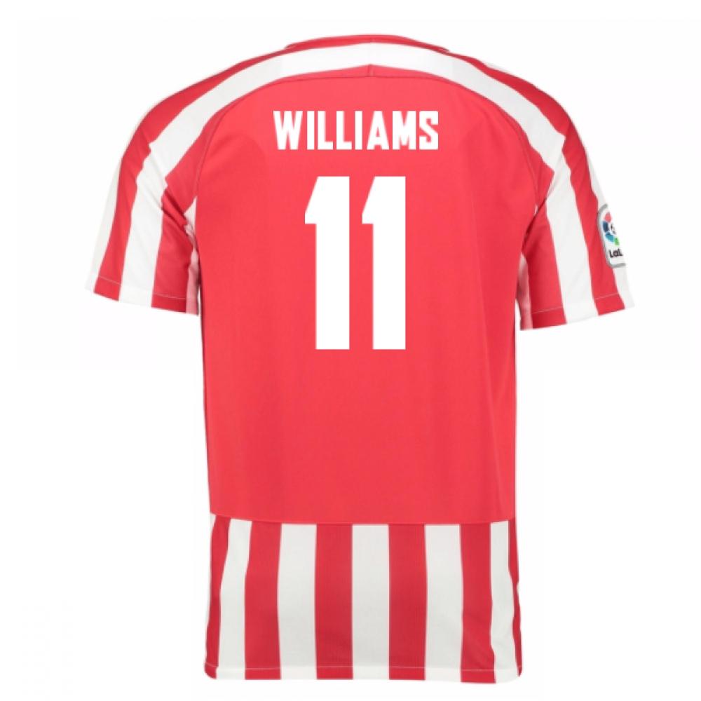 2016-17 Athletic Bilbao Home Shirt (Williams 11)