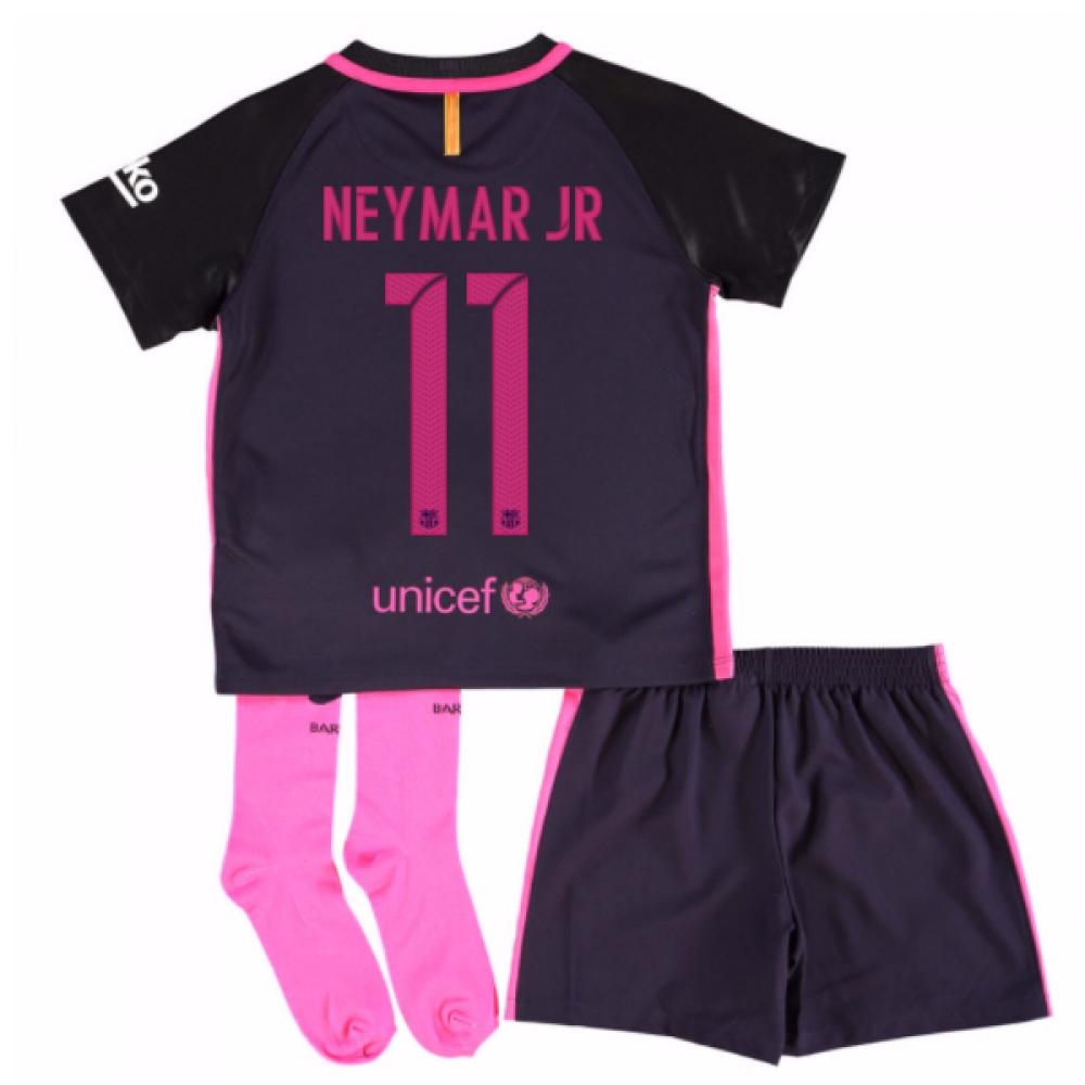 2016-17 Barcelona Away Baby Kit (Neymar JR 11)