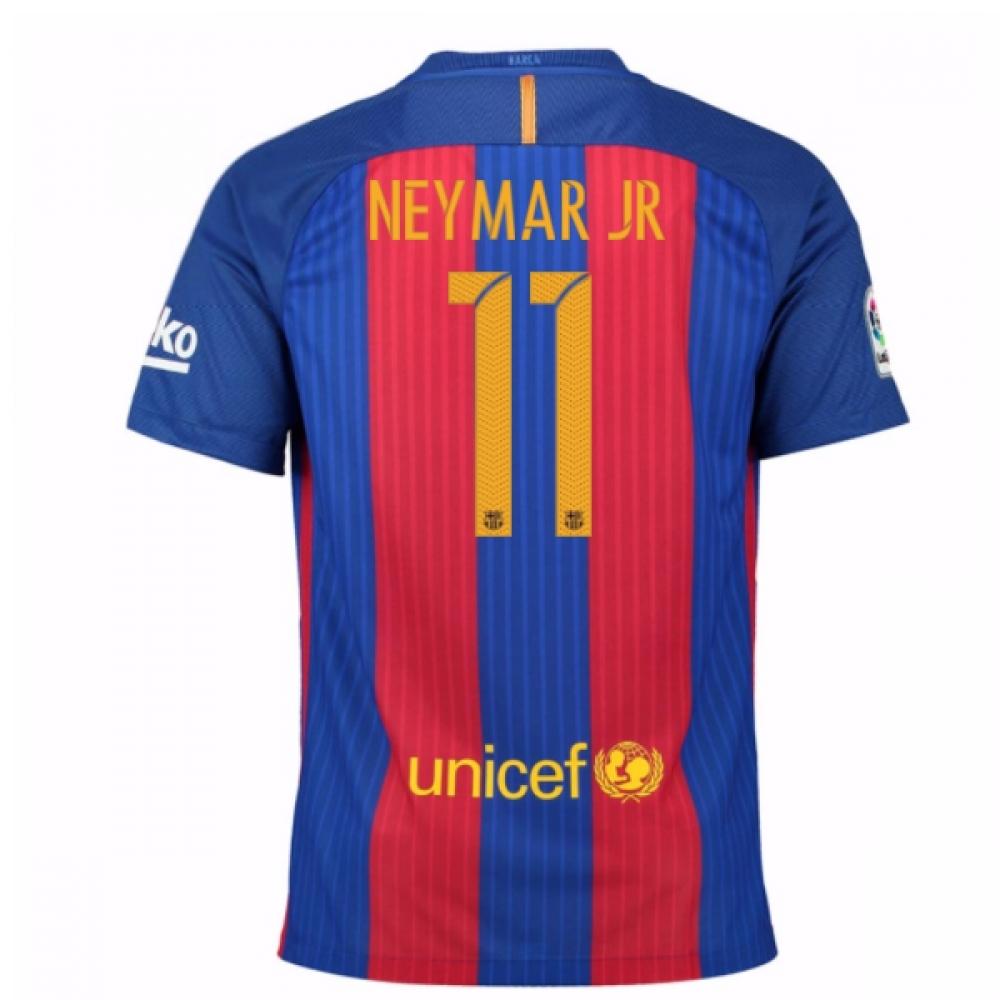 2016-17 Barcelona Sponsored Home Shirt (Neymar JR 11)
