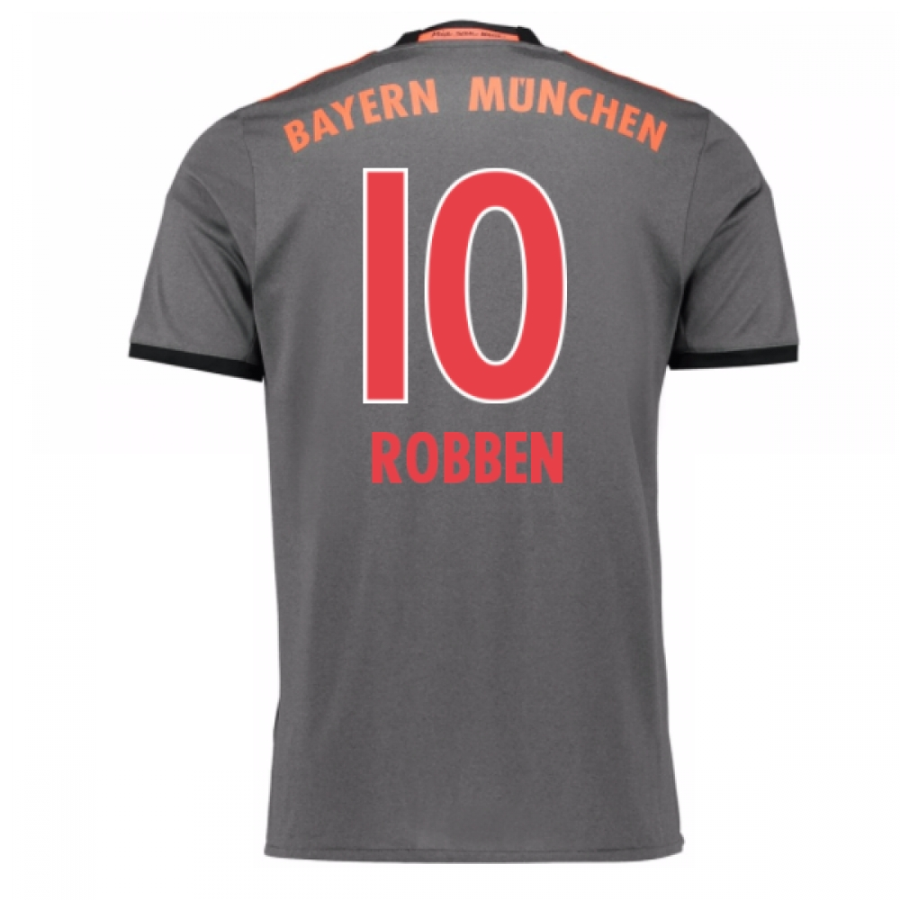 2016-17 Bayern Munich Away Shirt (Robben 10)