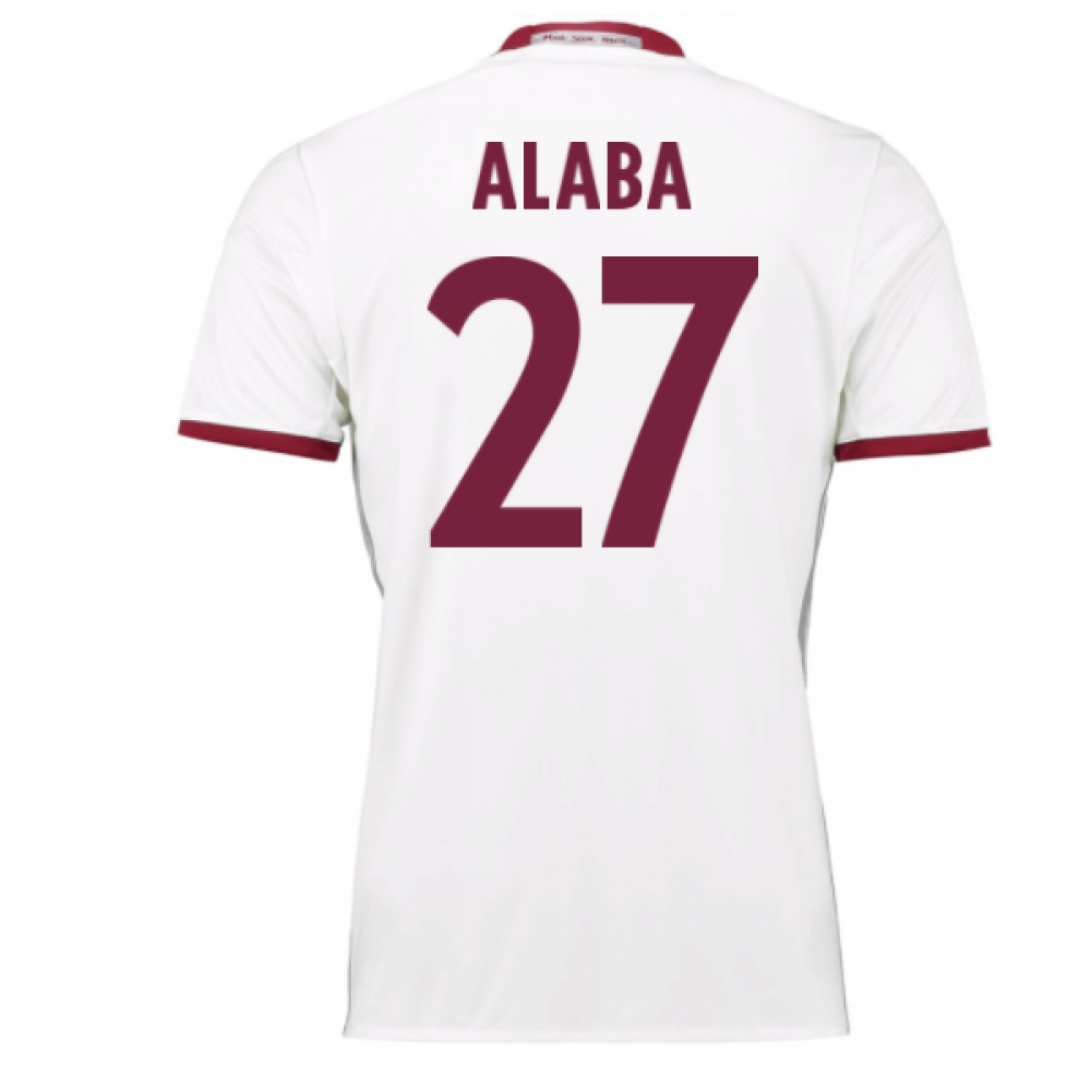 2016-17 Bayern Munich Third Shirt (Alaba 27)