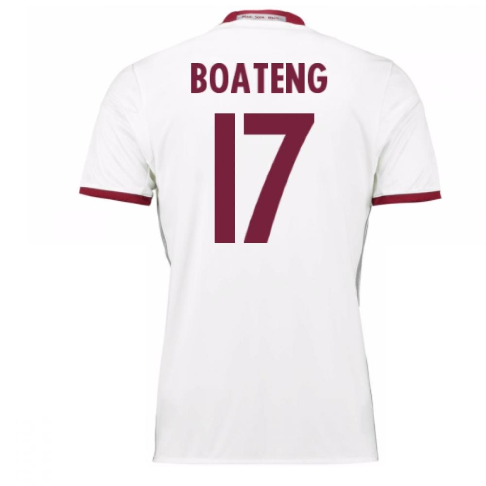 2016-17 Bayern Munich Third Shirt (Boateng 17)