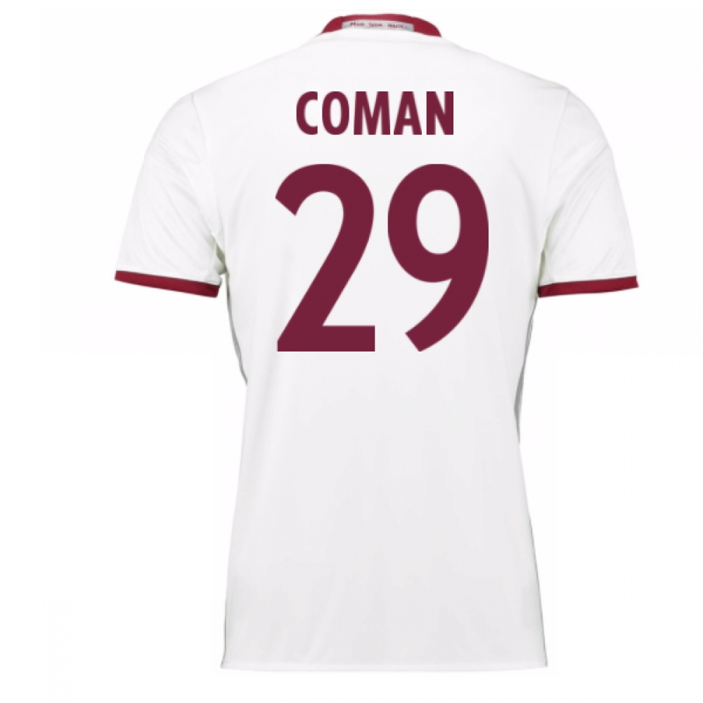 2016-17 Bayern Munich Third Shirt (Coman 29)
