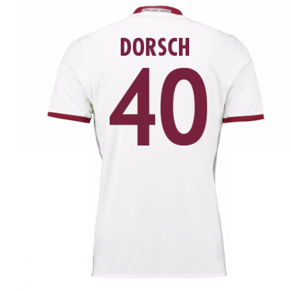 2016-17 Bayern Munich Third Shirt (Dorsch 40)