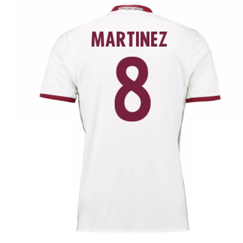 2016-17 Bayern Munich Third Shirt (Martinez 8)