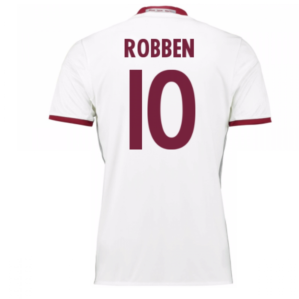 2016-17 Bayern Munich Third Shirt (Robben 10)