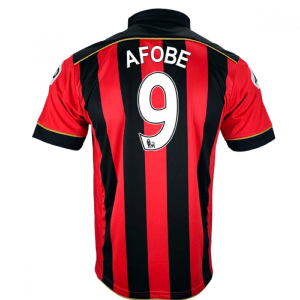 2016-17 Bournemouth Home Shirt (Afobe 9)