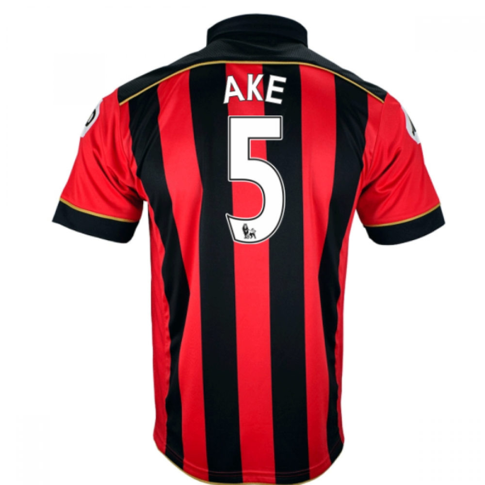 2016-17 Bournemouth Home Shirt (Ake 5)