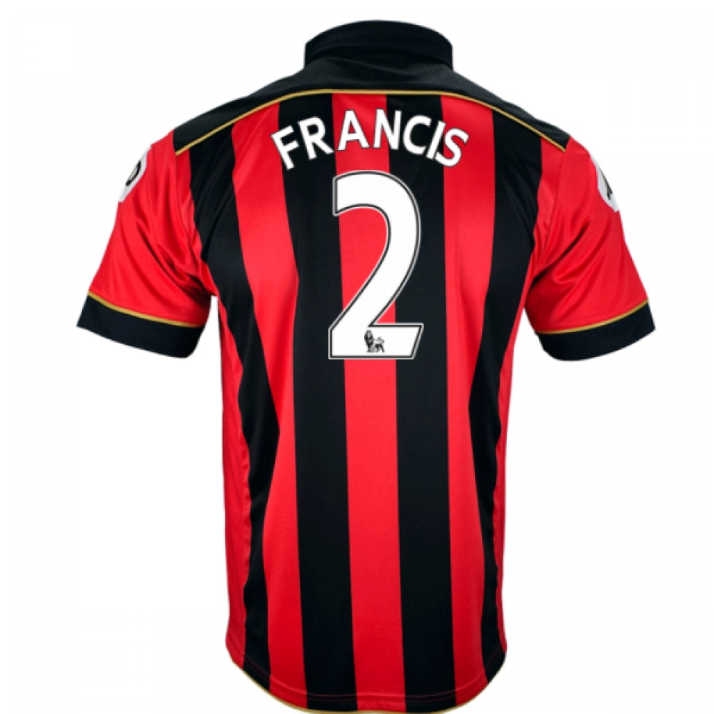 2016-17 Bournemouth Home Shirt (Francis 2)