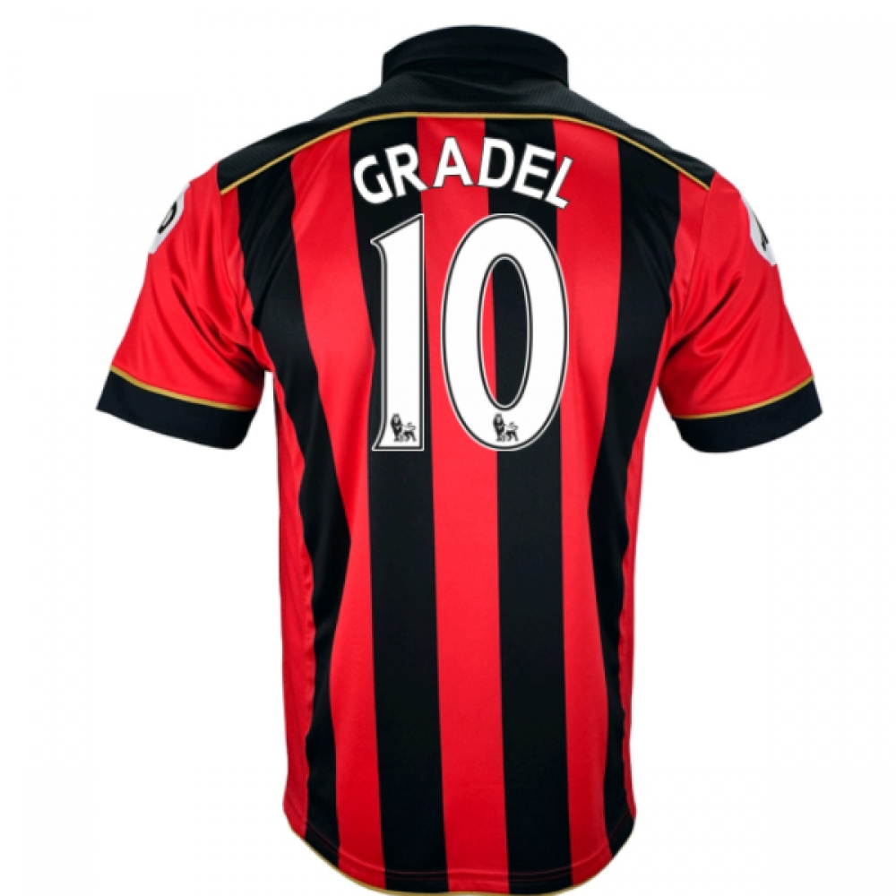2016-17 Bournemouth Home Shirt (Gradel 10)