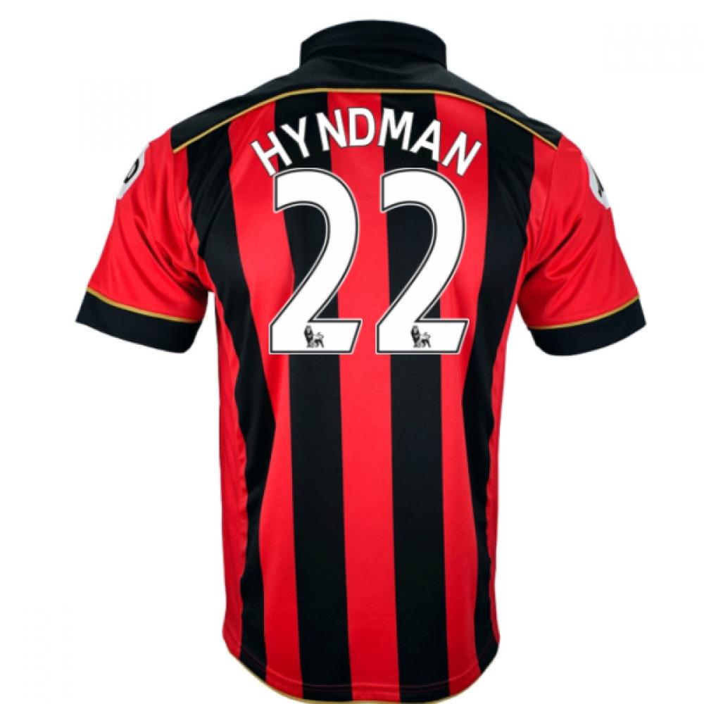 2016-17 Bournemouth Home Shirt (Hyndman 22)