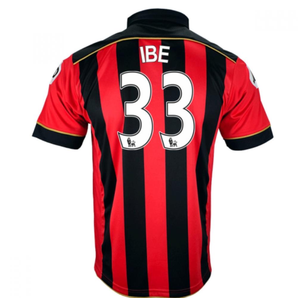 2016-17 Bournemouth Home Shirt (Ibe 33)