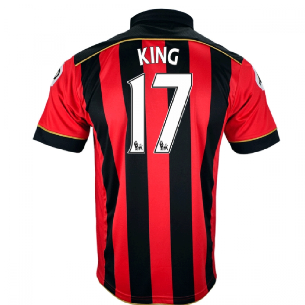 2016-17 Bournemouth Home Shirt (King 17)