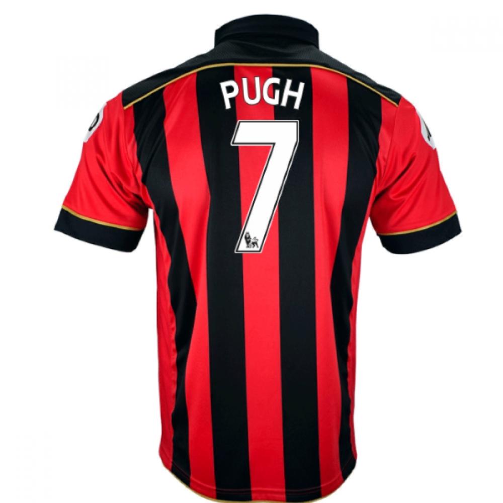 2016-17 Bournemouth Home Shirt (Pugh 7)