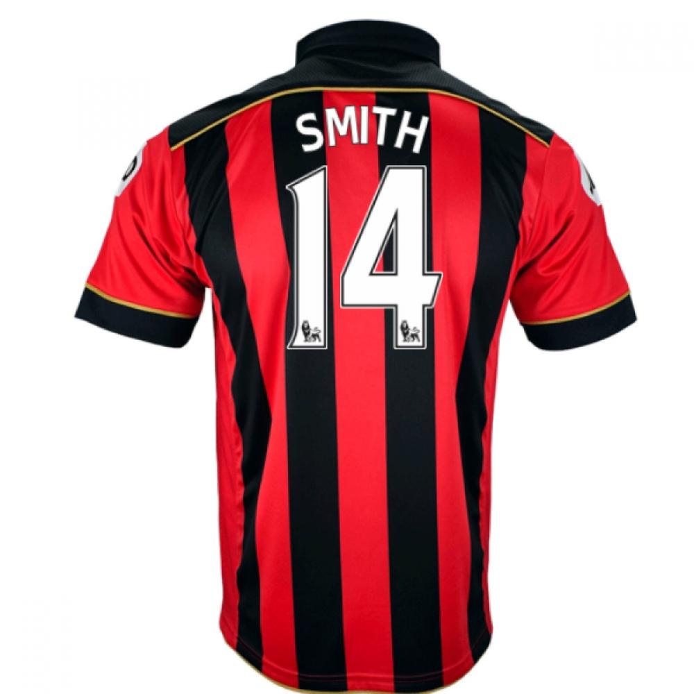 2016-17 Bournemouth Home Shirt (Smith 14)