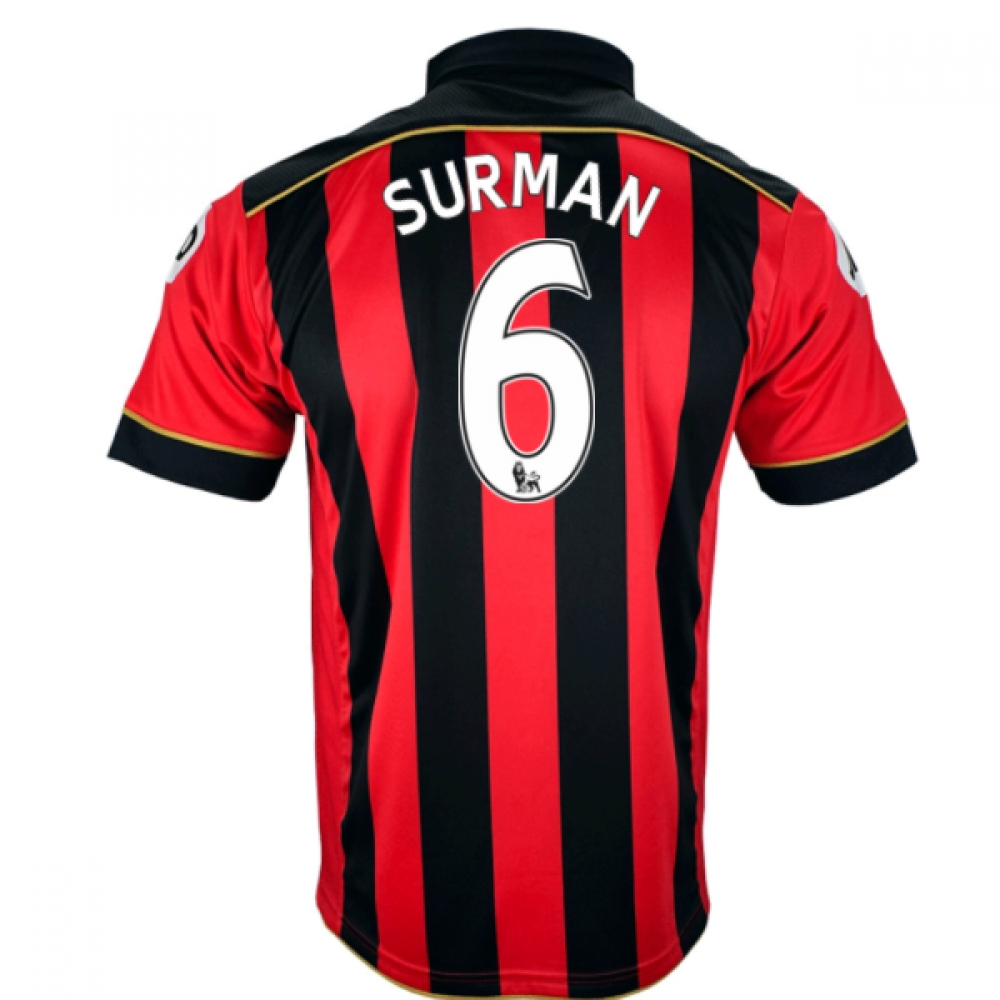 2016-17 Bournemouth Home Shirt (Surman 6)
