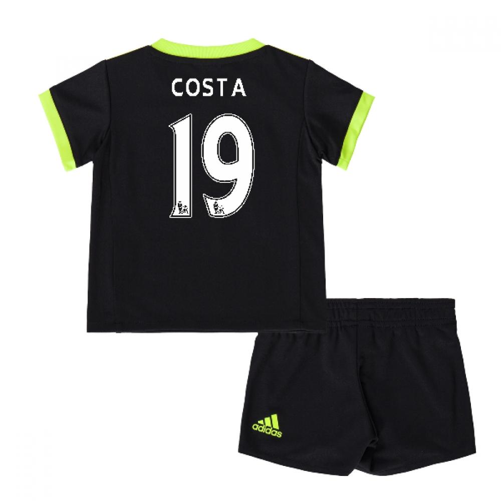 2016-17 Chelsea Away Mini Kit (Costa 19)