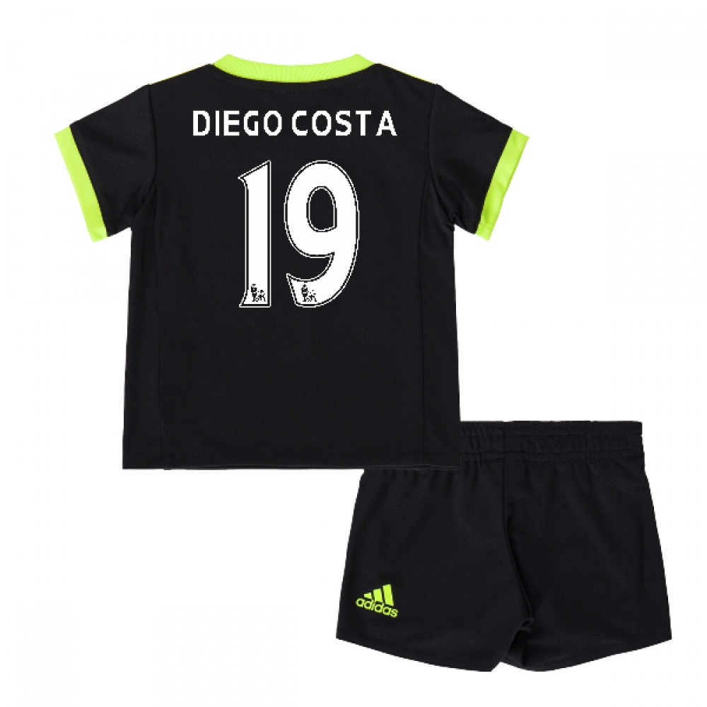 2016-17 Chelsea Away Mini Kit (Diego Costa 19)