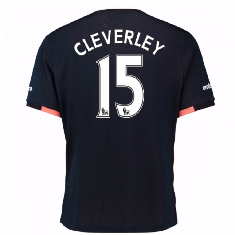 2016-17 Everton Away Shirt (Cleverley 15)