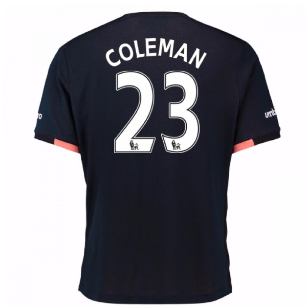 2016-17 Everton Away Shirt (Coleman 23)