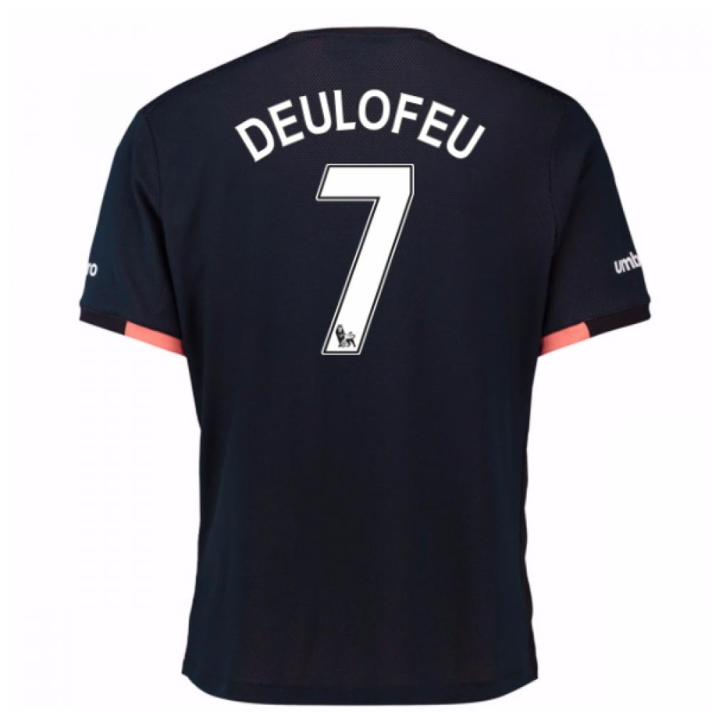 2016-17 Everton Away Shirt (Deulofeu 7)