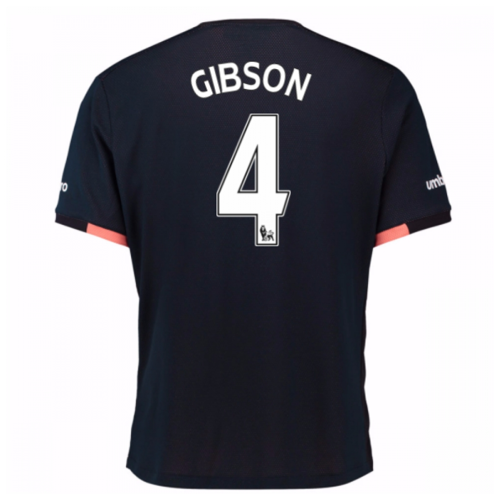 2016-17 Everton Away Shirt (Gibson 4)