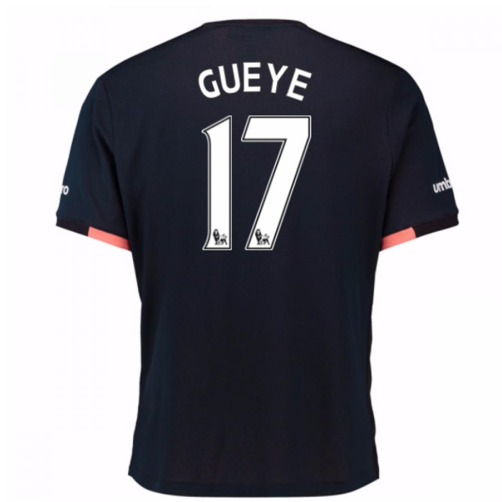 2016-17 Everton Away Shirt (Gueye 17)